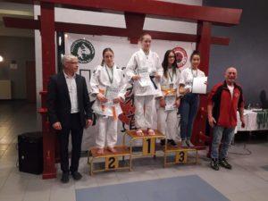 2. Platz Tabea Mutuszewski U15w