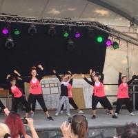 Budo-Dancer bei 600-Jahrfeier in Grünewalde