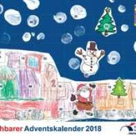 begehbarer Adventskalender der Stadt Lauchhammer