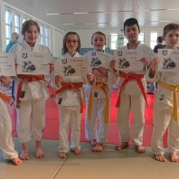 Kinder- und Jugendtraining der Sektion Judo