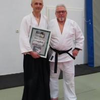Aikido-Workshop beim Budo-Verein Lauchhammer e.V. mit Christoph Tischer