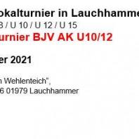 11. Pokalturnier in Lauchhammer