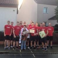 Weihnachtsevent der Regionalligamannschaft