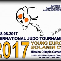 """International Judo Tournament """"Young Europe"""" Solanin Cup 2017"""